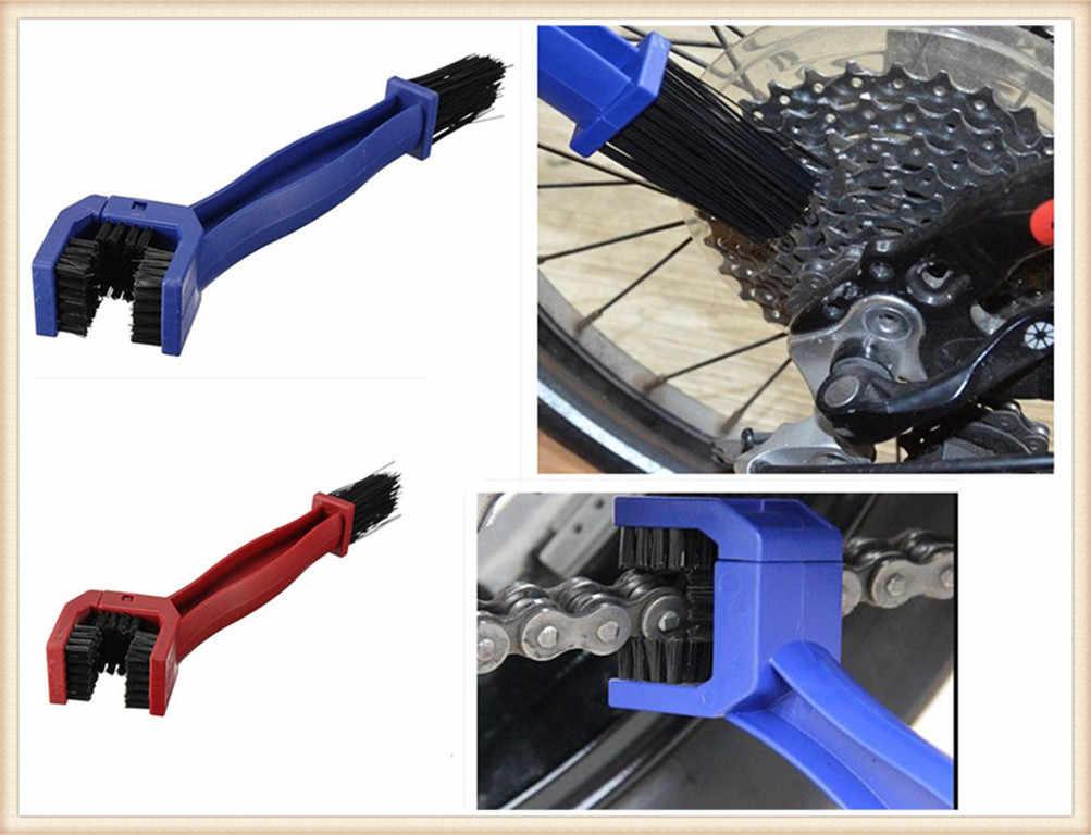 Cepillo de engranaje de bicicleta de plástico para limpieza al aire libre para Ducati GT 1000 M900 M1000 MS4 MS4R DS