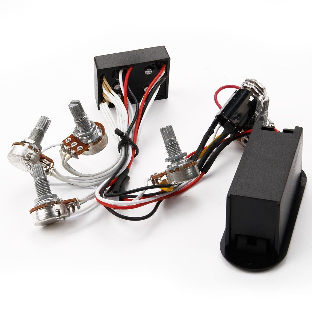 3 band eq preamp circuit bass guitar wiring harness for. Black Bedroom Furniture Sets. Home Design Ideas