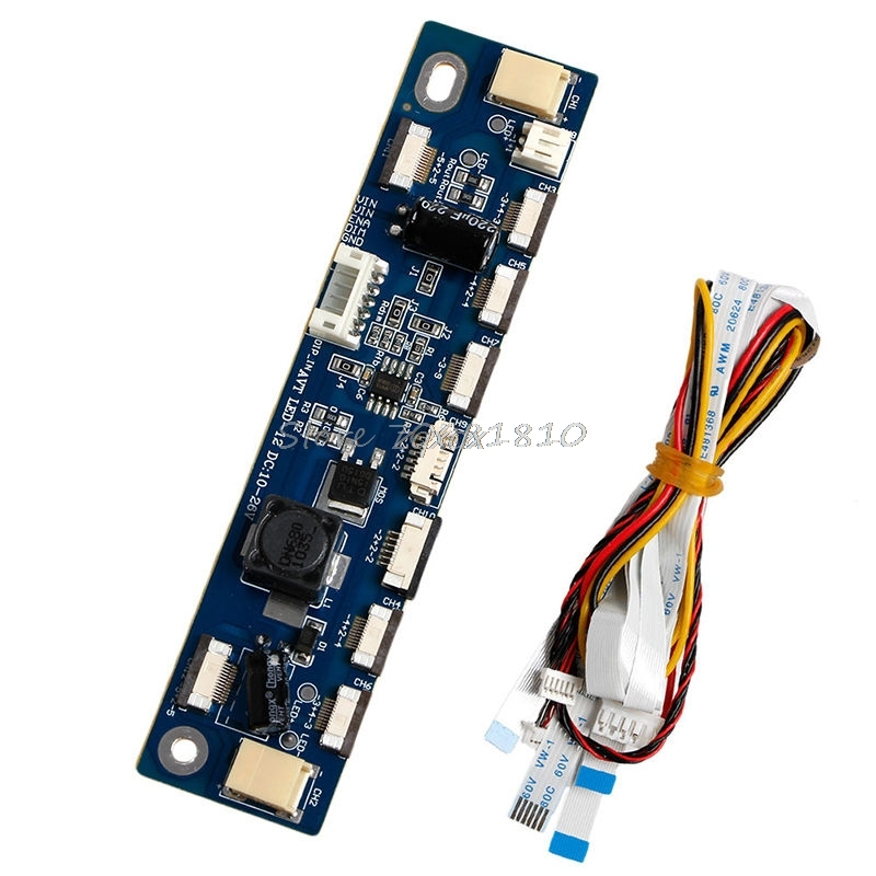 Backlight LED Inverter Tester 12 Connecters Constant Current Board Driver Board Whosale&Dropship