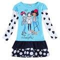 Девушки одежда девушки одеваются случайные платья принцесс для девочек аппликации мультфильм моего дитлс pony бабочка детская одежда H6495