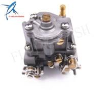 Motore fuoribordo 66M-14301-12-00 Carburatore Assy per Yamaha tempi 15hp F15 Avviamento Elettrico Barca A Motore Trasporto Libero