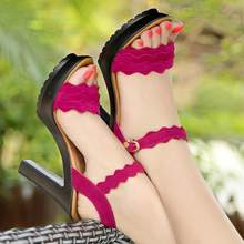 5ac00e02 {D & Henlu} diseñador zapatos mujer de lujo Mujer Sandalias 2018 plataforma  sandalias señoras sandalias con tacones sandalia fem.