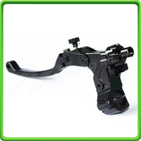 Motorcycle cable folding adjustable clutch lever & perch for Yamaha R6 YZF R6 2006 2016 2007 2008 2009 2010 2011 2012 2013 Black