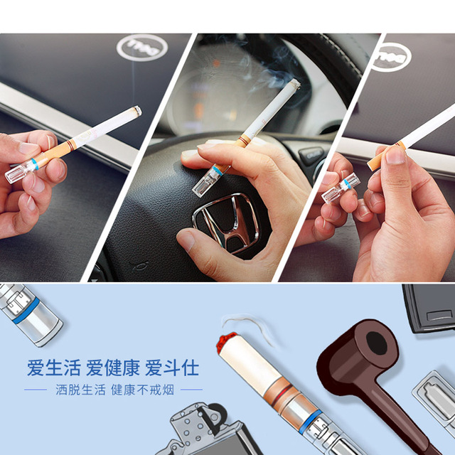 Disposable Cigarette Filter & Holder Tarblock Blockers Nic Out Smoking Cessation