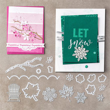 Julyarts Metal Courtyard Cutting Dies Scrapbooking Carbon Steel Material Craft Creative Stamps Paper Combination
