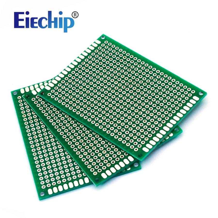 5 шт./лот 5*7 см двухсторонний Прототип PCB diy универсальная печатная плата 5x7 см Высокое качество!