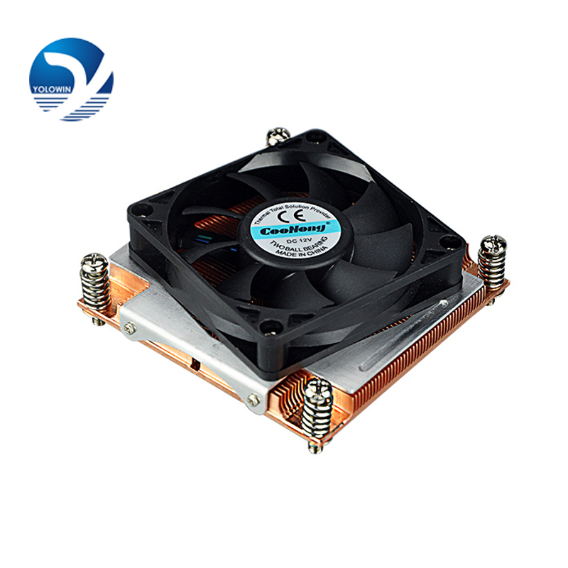 Skiving Fin server Computer Copper Radiator cooler cooling heatsink for intel LGA 2011 Active D8-20 1 5u server cpu cooler computer radiator copper heatsink for intel 1366 1356 active cooling