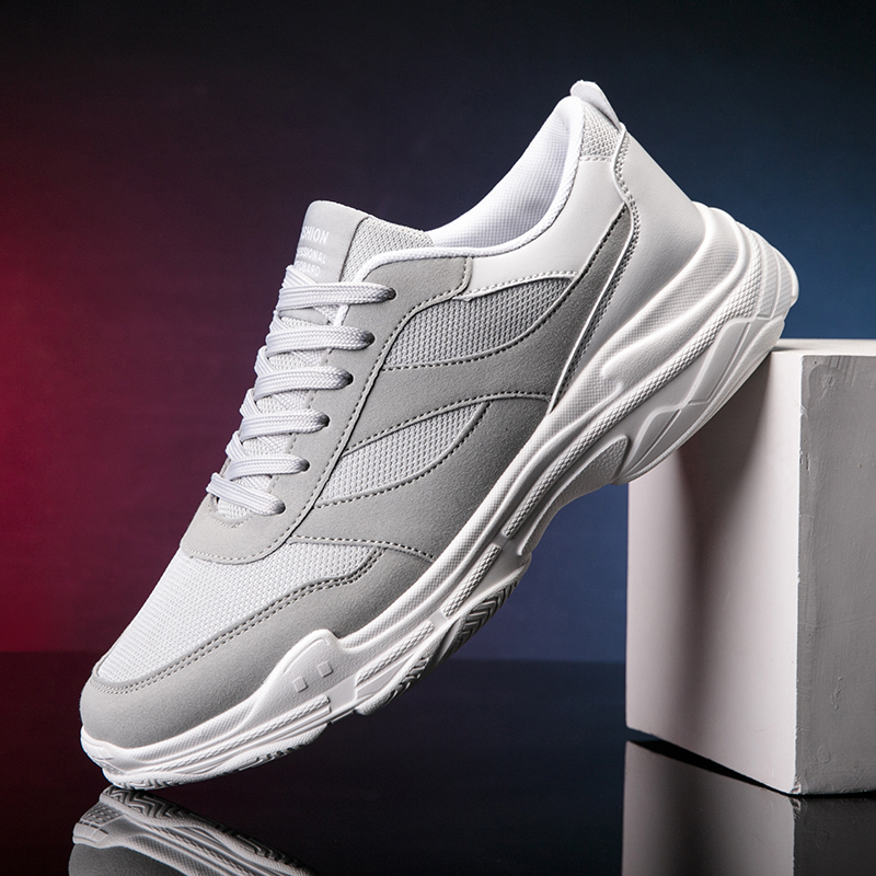 New Running Shoes for Men Lace Up Athletic Shoes Outdoor Walkng Jogging Men Sneakers Comfortable Men Shoes