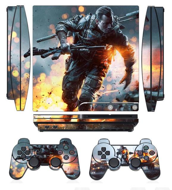Battlefield 4 259 vinyl skin sticker protector for sony ps3 slim playstation 3 slim and 2