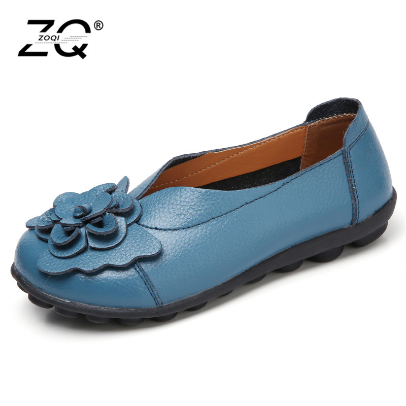 Spring And Autumn 2018 Fashion Loafers Women Personality Handmade Shoes Woman Genuine Leather Soft Casual Flat Shoes Women Flats 2017 fashion women shoes genuine leather loafers women mixed colors casual shoes handmade soft comfortable shoes women flats