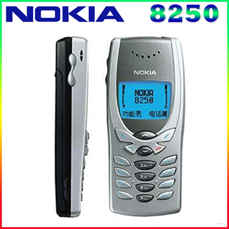 8250 Original Unlocked NOKIA 8250 mobile phone Dual band 2G GSM 900 1800 Classic Cheapest Cell