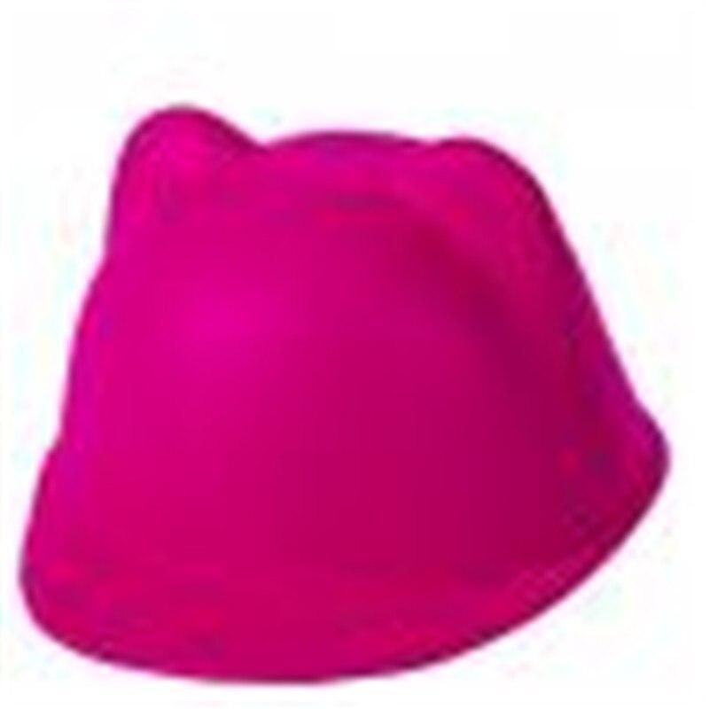 8e2a16fe616b Nouvelle Hiver De Mode hip hop Enfants Bébé Enfants Chapeaux Chaud Diable  chapeau Mignon Kitty Cat Multicolors Oreilles Laine Derby Bowler Cap chaude  dans ...