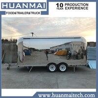 Мобильные пищевые грузовики концессия Кейтеринг пищевые прицепы мобильный кухонный фургон 5800x2100x2600 мм