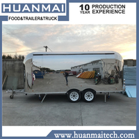 Mobile Food Trucks Concession Catering Food Trailers Mobile Kitchen Food Van 5800x2100x2600mm