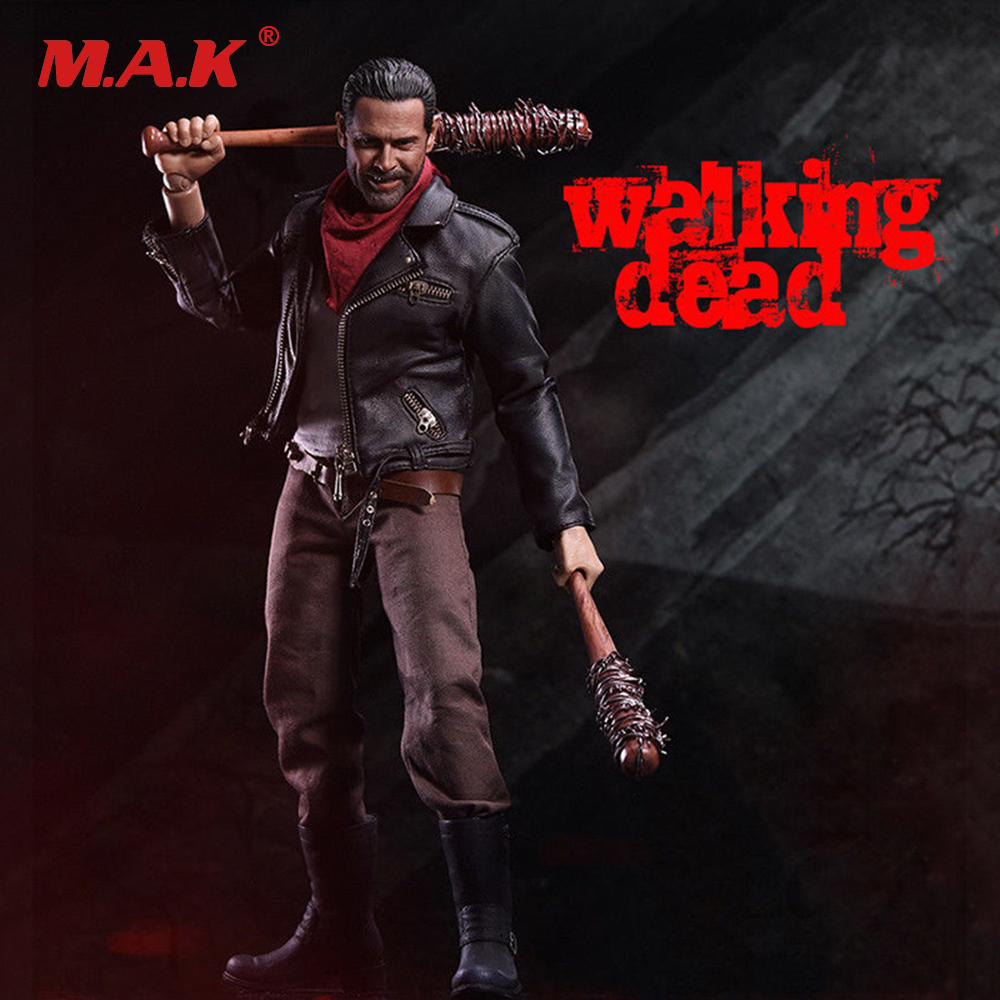 1/6 Scale Figure Movie 1/6 The Walking Dead Negan Full Set Action Figure худи print bar the walking dead