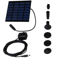 IMC Hot SOLAR WATER PUMP FOR FOUNTAIN GARDEN POND