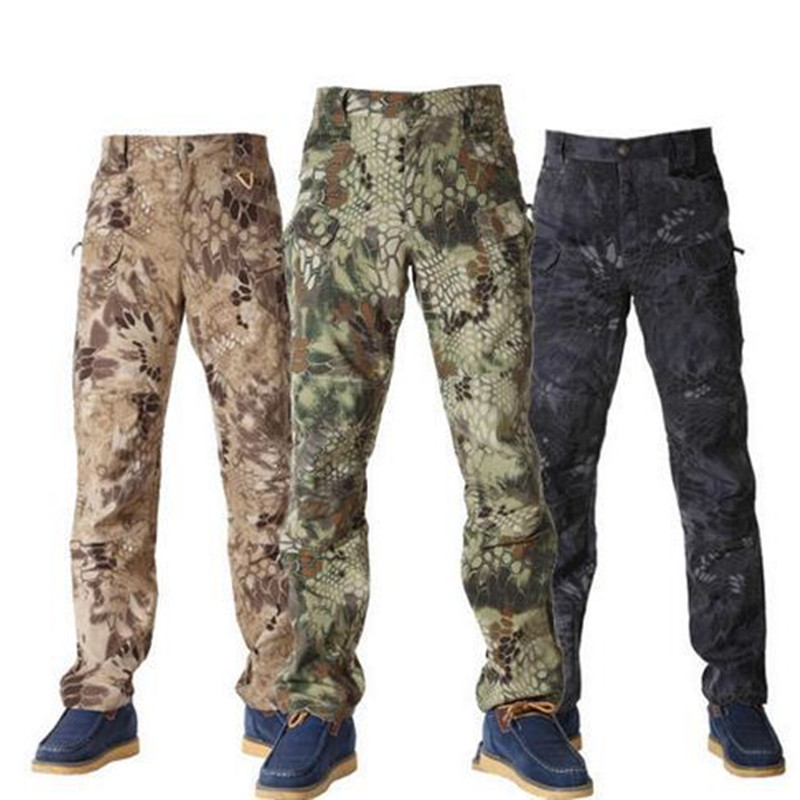 Military Outdoors Urban Tactical Pants IX7 Men s Cargo Combat Pants helikon swat Trainning Pants Cotton