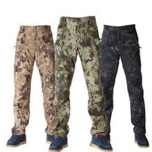 Military Outdoors Urban Tactical Pants IX7 Men s Cargo Combat Pants helikon swat Trainning Pants Cotton