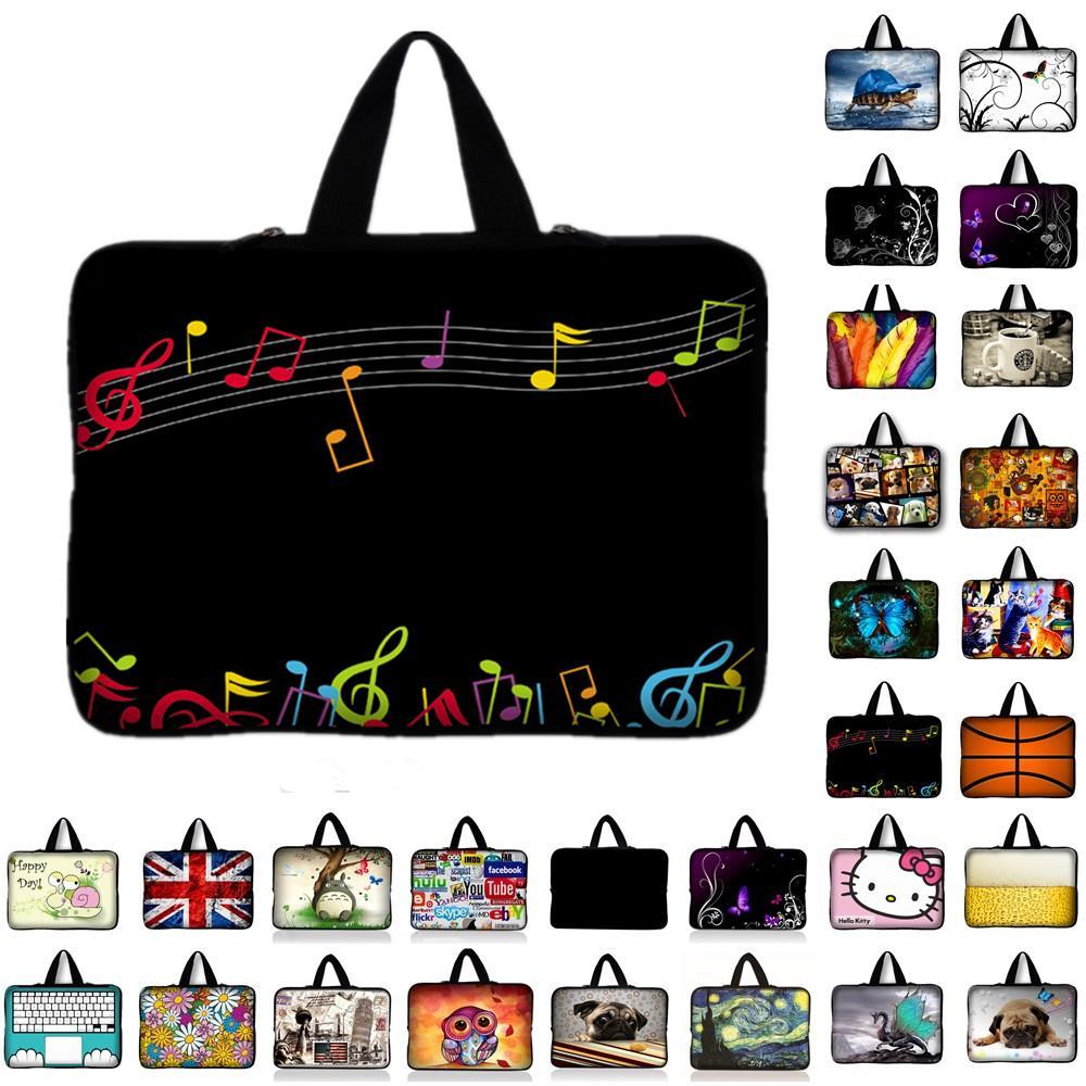 notebook Laptop Bag For macbook Air / Pro Netbook Laptop Sleeve Carry Bag waterproof case Cover 10 11.6 13.3 14 15 15.4 15.6 17