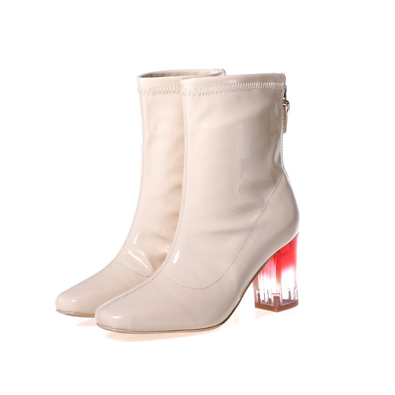 Compare Prices on White Leather Boots Women- Online Shopping/Buy ...