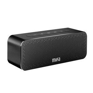 Металлическая портативная колонка MIFA A20, Bluetooth колонка с насыщенными басами, беспроводная колонка Bluetooth 4.2, цифровая колонка с 3D звуком, гарни...