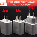 10pcs 5V 2A EU AU US USB Charger for HUAWEI P8 / P8 Lite / P9 P9 plus / Honor 3C / Honor 6 and Tablet PC White
