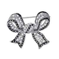 Elegant bow brooch/ cooper/bronze/brass booch/ usa hotsale designs