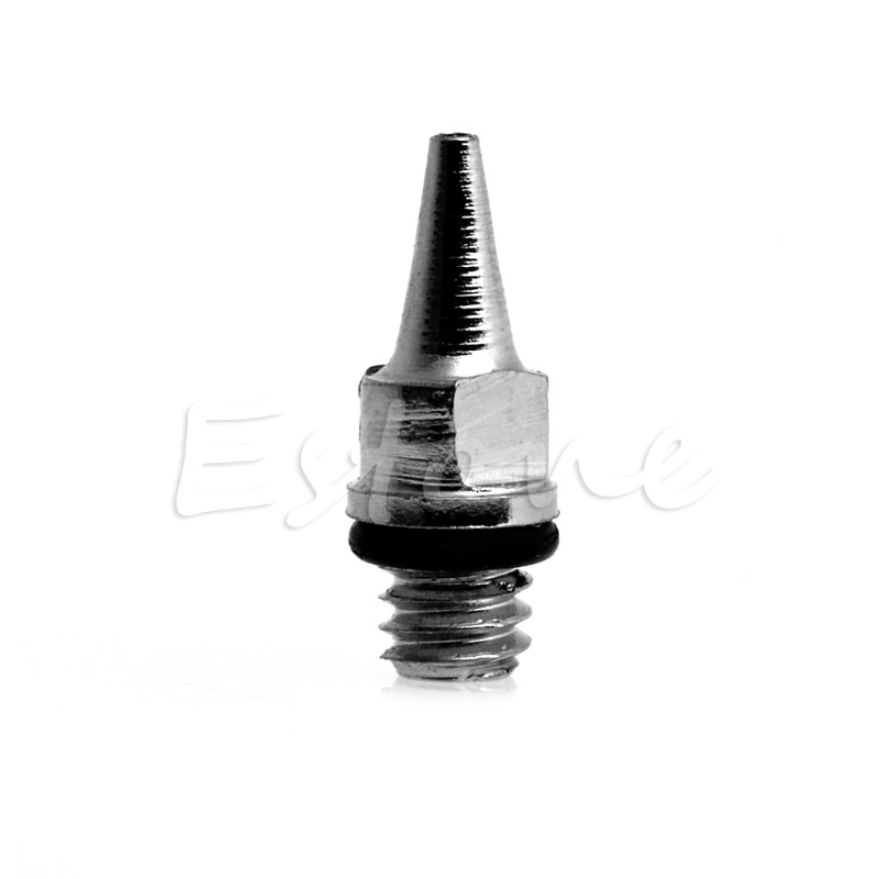HOT SELL 0.3 Mm Airbrush Accessories Machine Part Fluid Nozzle With Bottle New