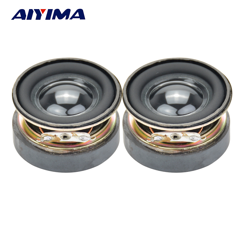 Aiyima 2PC 1.5Inch Full Frequency Speaker 40MM 4Ohm 3W Bluetooth Speaker PU Basin Audio Loudspeaker For Amplifier DIY