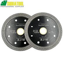 SHDIATOOL 2pcs Hot pressed sintered Mesh Turbo Diamond Saw blade Hard material Diamond Wheel Cutting Disc 105MM 115MM or 125MM все цены