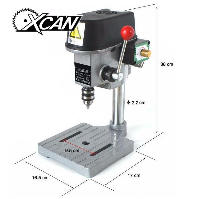 Bench Pillar Drill Part - 36: 220V 240V AC 340W Rotary Pillar Drill Drilling Press Bench Machine Table  Bit Tip Diameter 1mm