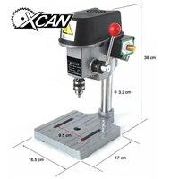 220V 240V AC 340W Rotary Pillar Drill Drilling Press Bench Machine Table Bit Tip Diameter 1mm 6.5mm 10mm (5158A)