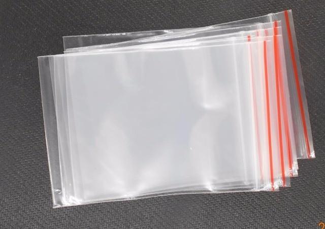 100pcs Lot Jewelry Plastic Bag 5x7 6x4cm Ziplock Zipped Lock Reclosable Poly Clear