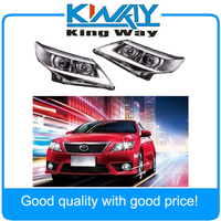 Headlight USA LED Halo Projector Headlights For 2012 2013 2014 Toyota Camry
