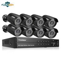 8CH 1080P AHD DVR + 8pcs Outdoor 3000TVL 1080P 2.0MP Camera Home/Mansion/Store Security Surveillance System Kit CCTV Camera Set
