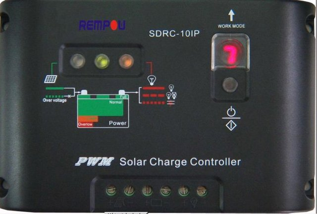 12V 10A solar regulator