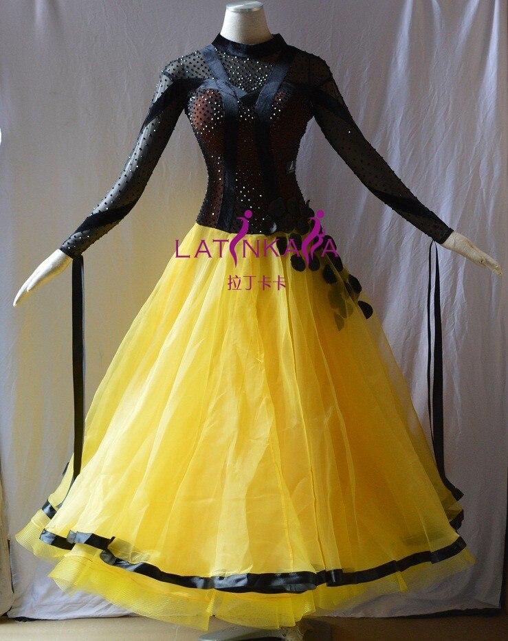 KAKA DANCE B1518,New Ballroom Standard Dance Dress,Waltz Ballroom Competition Dress,ballroom dance competition dresses