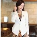Atacado moda de nova mulheres blazer, Elegante fino das senhoras pequena jaqueta Plus size vestuário frete grátis SW483