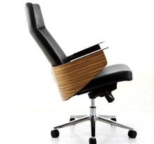 Office furniture chair. Simple leather high back office chair.03