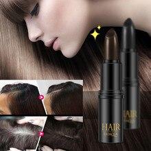 Краска для волос новая быстрая временная краска для покрытия белых волос окрашенная ручка временный цвет волос черный спрей для волос 10,17
