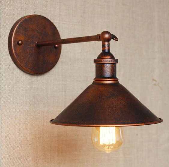 nordic loft style edison wall sconce vintage wall lamp retro industrial wall light fixtures for. Black Bedroom Furniture Sets. Home Design Ideas