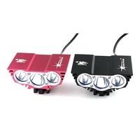 Comparar Solarstorm X3 3xCREE XM L 2200 lúmenes 4 modos LED recargable Luz de bicicleta