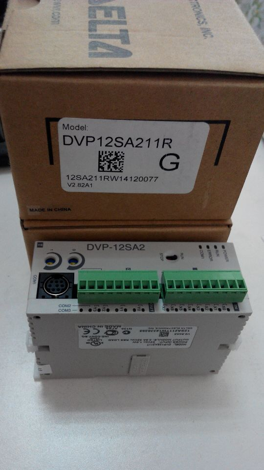 все цены на Original PLC DVP12SA211R, NEW DVP12SA211R, SA2 Series 24 VDC 12 Point, 8DI 4DO Relay Programmable Logic Controller Freeship онлайн