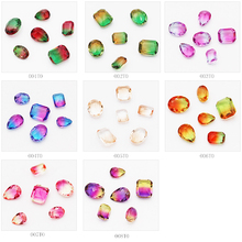 Crystal Fabric Decoration Stone Art Rhinestones dress with stones appliqued crystal HandBag Garment Glass Desig 10Pcs/Pack