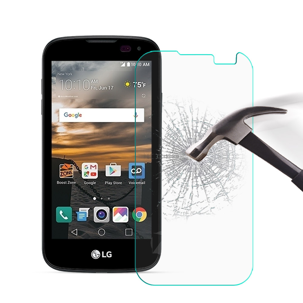 2Pcs Tempered Glass For <font><b>LG</b></font> K3 Lte Screen Protector Film 9H 2.5D Protective Tempered Glass For <font><b>LG</b></font> K3 Lte K100ds <font><b>K100</b></font> 4G Lte K 3 image