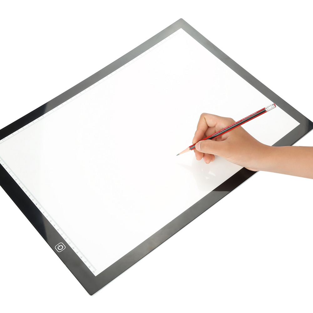 Gasky Portable Ultra Thin A4 Led Drawing Copy Tracing Drawing Table Pad Light Box Usb Stencil Board Eu Plug Accessories A Wide Selection Of Colours And Designs Video Games