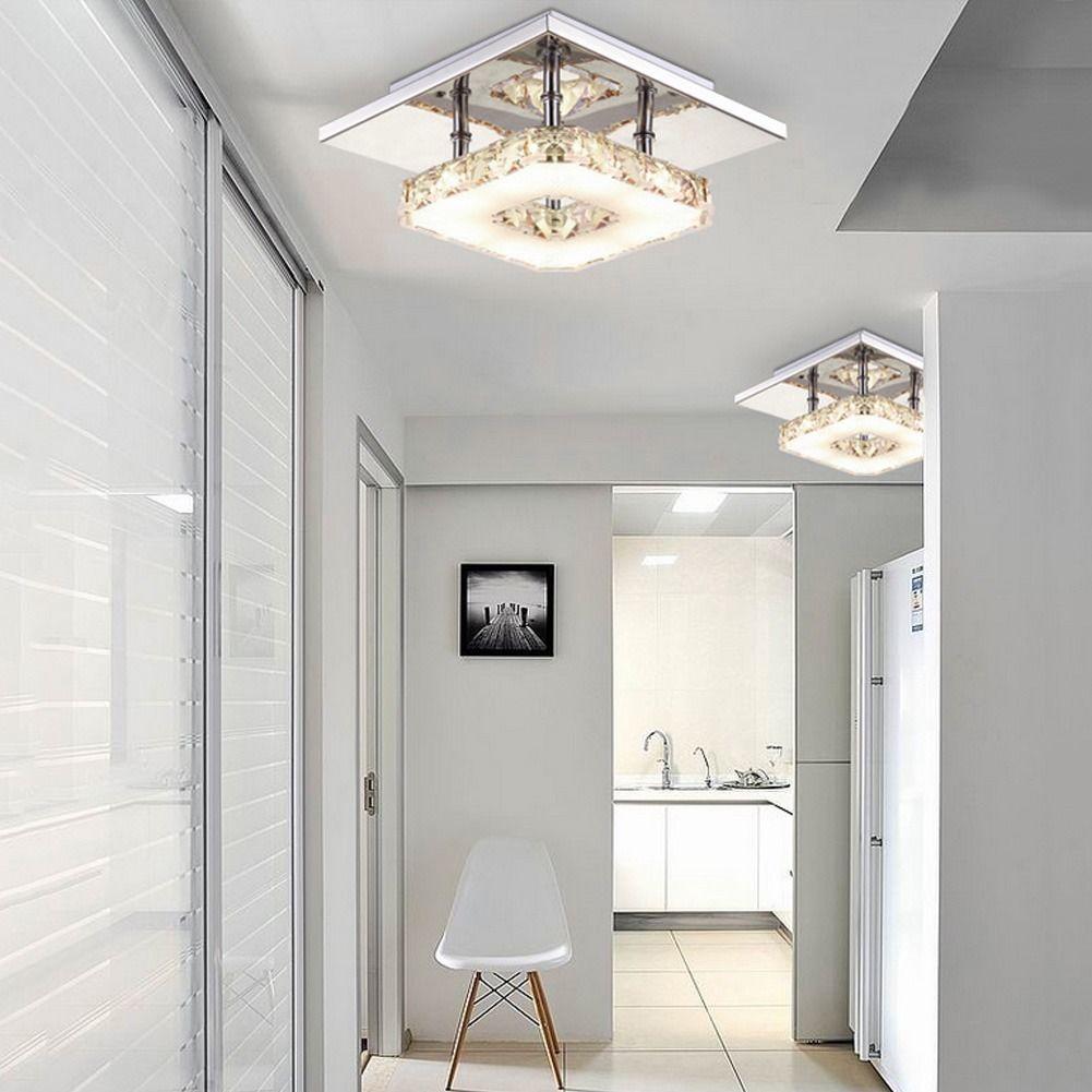 Aliexpress.com : Buy Modern LED Ceiling light Square Crystal Lustre ...