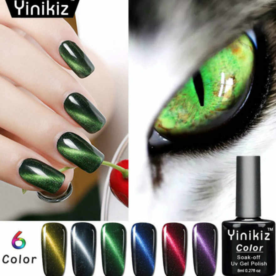 Detail Feedback Questions About Magic Cat S Eye Bottle 8ml Nail