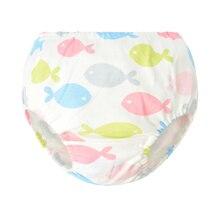 Soft Cartoon Underwear Newborn Comfortable Underpants Baby Cotton Briefs Lovely Training Pant Toddler Animal Panties