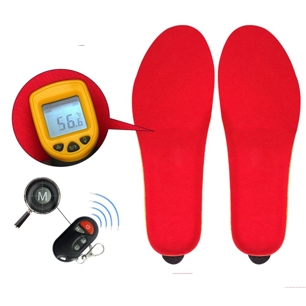 [Promotion] Hiver Chaud Électrique Chauffée Semelles avec Télécommande 1800 mah Batterie Chauffage Chaussures Semelles Tapis Pour Le Ski /Camping - 3